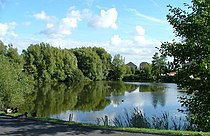Duck Pond, Cathedral Drive, Morecambe, North Lancs. - geograph.org.uk - 55987.jpg
