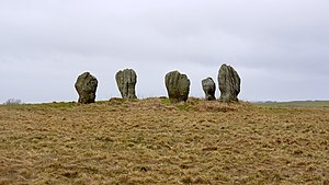 Duddo Five Stones - Image: Duddo Stone Circle geograph.org.uk 1729405