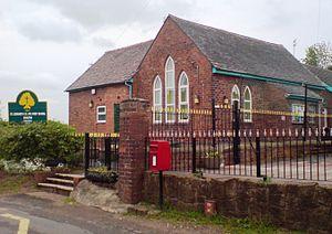 Dunston, Staffordshire - St. Leonard's First School, Dunston, May 2008