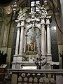 Duomo di udine, altare di san giuseppe, tela di pellegrino da san daniele.JPG