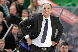 Duško Ivanović Montenegrin basketball coach and player