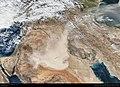 Dust storm over Saudi Arabia and Iraq 2017 10 29 (37990911582).jpg