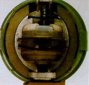 United States and weapons of mass destruction - E120 biological bomblet, developed before the U.S. ratified the Biological Weapons Convention.