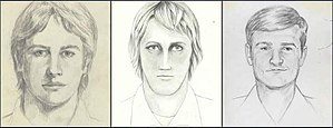 Original Night Stalker - These were the three sketches the FBI focused on when it reopened the case in June 2016.