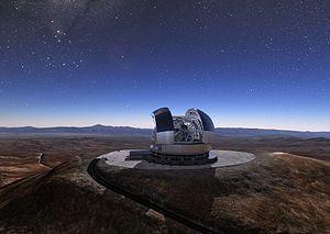 Extremely Large Telescope - ELT concept.