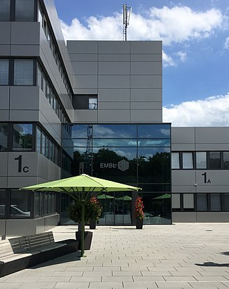 European Molecular Biology Laboratory - EMBL main entrance