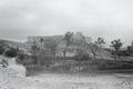 ETH-BIB-Festung und Garten in Beni-Abbès-Nordafrikaflug 1932-LBS MH02-13-0184.tif
