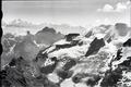 ETH-BIB-Ufem Stock, Wildi Frau, Wyssi Frau, Morgenhorn, Gspalthorn, Jungfrau v. W. aus 3200 m-Inlandflüge-LBS MH01-005742.tif