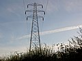 Early morning pylon - geograph.org.uk - 587638.jpg