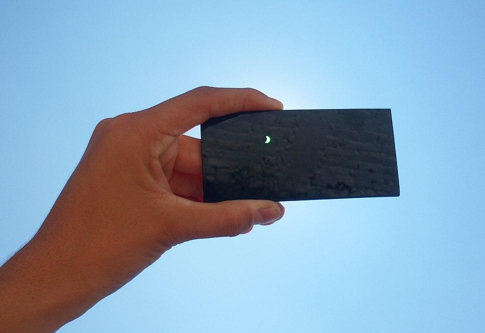 Eclipse solar del 21 de agosto de 2017 desde Chihuahua, M%C3%A9xico