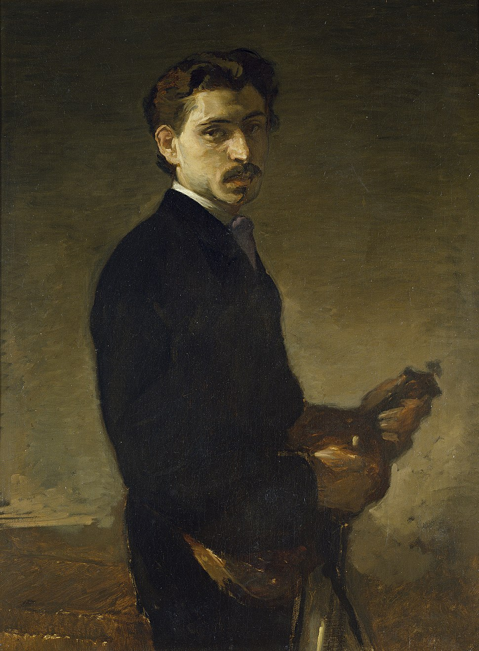 Eduardo Rosales Gallinas - El violinista Pinelli