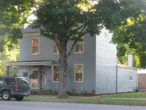 Edward Eggleston - Eggleston's childhood home in Vevay