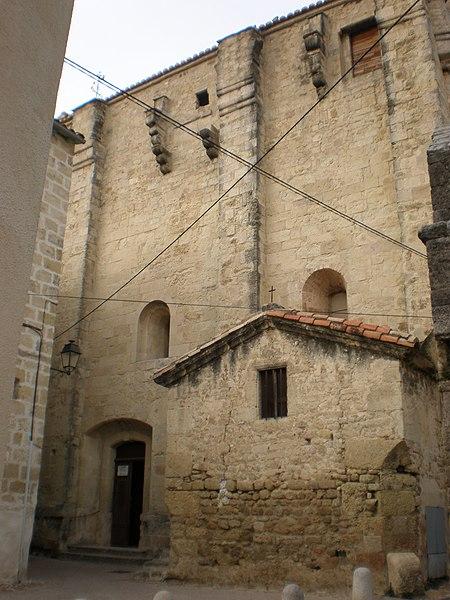 Eglise Sainte-Croix de Celleneuve à Montpellier (France)