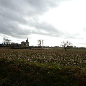 Arrien - Image: Eglise d'Arrien (Pyrénées Atlantiques)