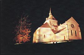Saint-Patrice Church in Saint-Parize-le-Châtel
