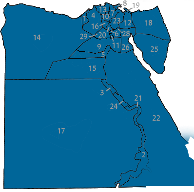 Egypt governorates