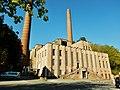 Ehemaliges Kraftwerk bei der Pulverfabrik in Rottweil, 1863 Max Duttenhofer, 1890 ) 850 Arbeiter, 6000 Tonnen Pulver, ab 1919 auch Kunstseide-Viskose, z. B. für Fallschirme, schrittweise Umnutzung des Areals ab 1993 - panoramio.jpg