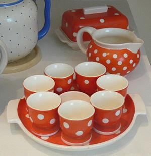 Waechtersbach ceramics - Waechtersbach egg cup from the 1930s
