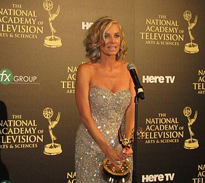 Eileen Davidson - Davidson at the 2014 Daytime Emmy Awards.