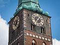 Ein-Zeiger-Uhr von St.-Jakobi, Lübeck.jpg