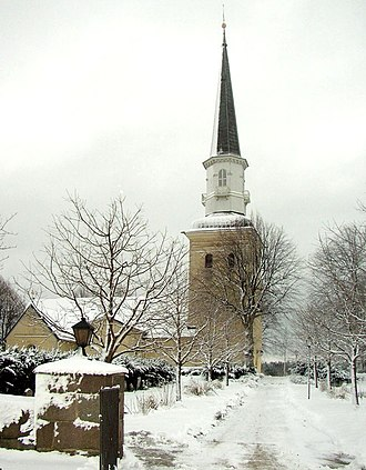 Nils Dardel - Ekerö Church outside Stockholm, where Nils lies buried.