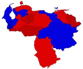 2013 Venezuelan presidential election protests - Election results