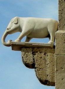 Torre dell 39 elefante wikipedia - Elefante foglio di colore dell elefante ...