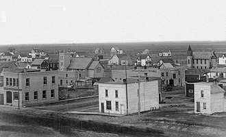Elgin, Manitoba - Elgin in 1909
