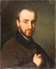 Portrait d'Élie Delaunay jeune