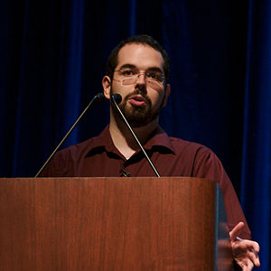 Eliezer Yudkowsky - Image: Eliezer Yudkowsky, Stanford 2006 (square crop)