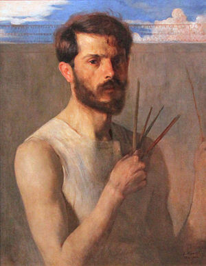 Eliseu Visconti - Self-portrait (1902)