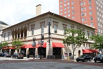 Elks Club Building (Jacksonville) - The building in 2016