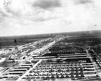 Ellington Field Joint Reserve Base - Ellington Field in 1918