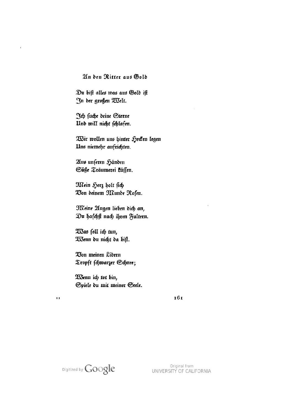 Gedichte über träumereien