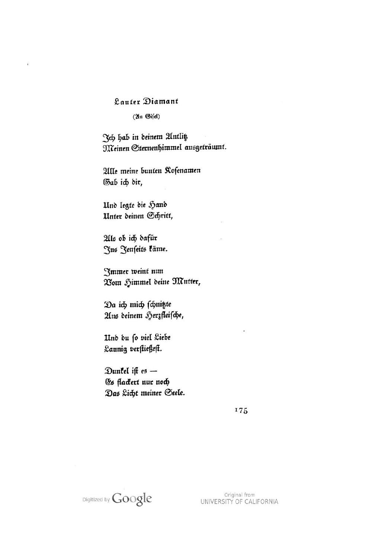 Seiteelse Lasker Schueler Die Gesammelten Gedichte 1917pdf