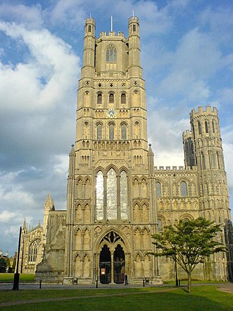 Nigel (bishop of Ely) - Exterior view of Ely cathedral, where Nigel may be buried