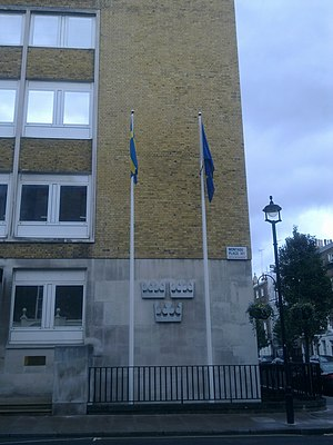 Embassy of Sweden, London - Image: Embassy of Sweden in London 2