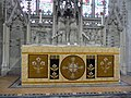 Embroidered altar cloth at Battlefield Church - geograph.org.uk - 1974369.jpg