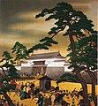 Emperor's Visit to Dajokan by Kobori Tomoto (Meiji Memorial Picture Gallery).jpg