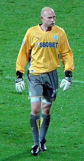 Peter Enckelman Finnish footballer