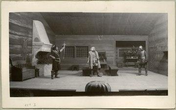 Engelbrekt, Svenska teatern 1901. Föreställningsbild - SMV - H14 018.tif