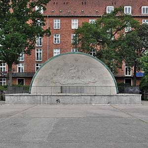 Enghaveparken - Arne Jacobsen's band stand