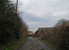 Entering Aughton on West Lane - geograph.org.uk - 1115763.jpg