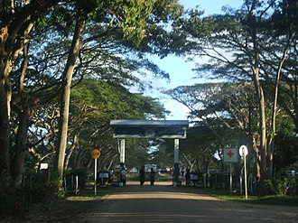 Tupou College - Entrance Gate Tupou College
