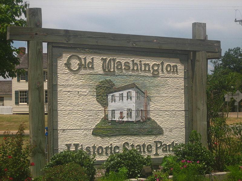 File:Entrance Sign at Historic Washington State Park IMG 1472.JPG