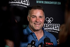 Eric Lindros - Eric Lindros at Smashfest 2016