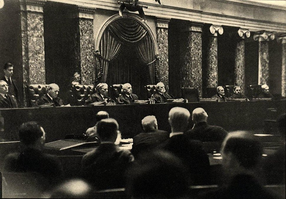Erich Salomon - The Supreme Court, 1937