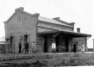 Buenos Aires Midland Railway - Andant station, c. 1900