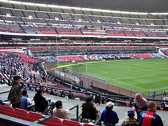 Estadio Azteca - Estadio Azteca prior to a kickoff