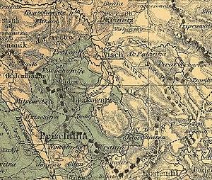 Expulsion of the Albanians 1877–1878 - Image: Ethnographische Übersicht des europäischen Orients (Ethnographic overview of the European Orient) Kiepert